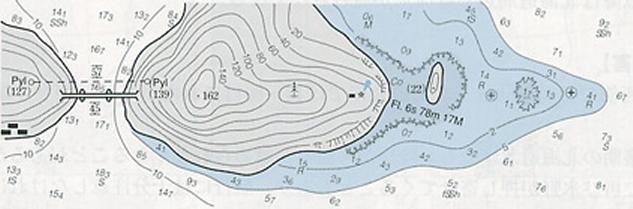 図.海図上の表示